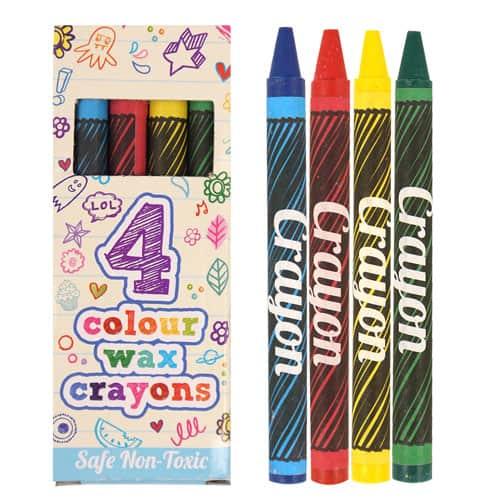 Lápices de Colores en una Caja - Paquete de 4