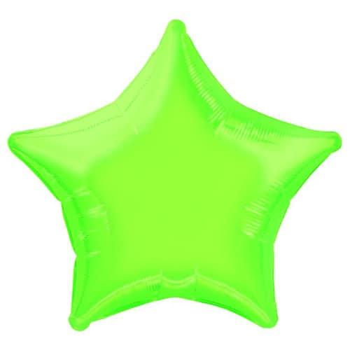 Verde Lima Globo de la Hoja en Forma de Estrella - 50cm