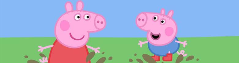 Suministros de fiesta de Peppa Pig Top Image