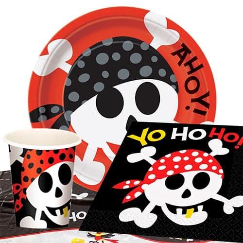 Paquete De Fiesta Pirata Diversión 8 Personas Valor