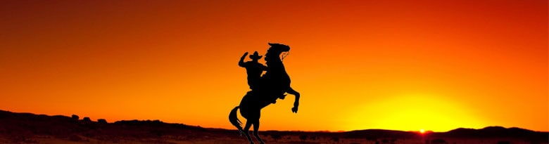 Fuentes del partido temático Western Rodeo Top Image