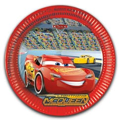 Disney Cars 3 Suministros para la Fiesta