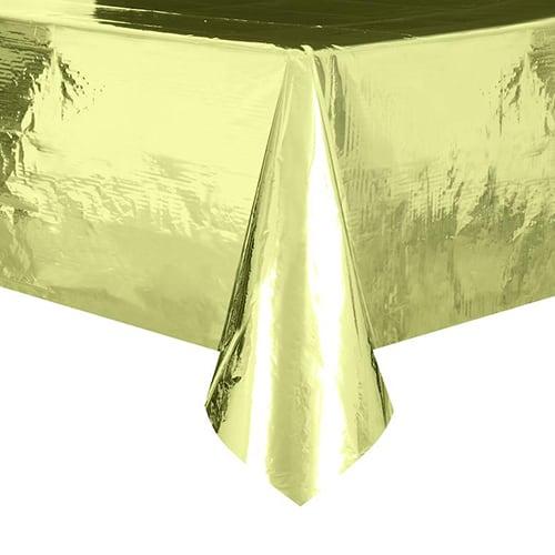 Mantel De Papel Dorado 274Cm X 137Cm