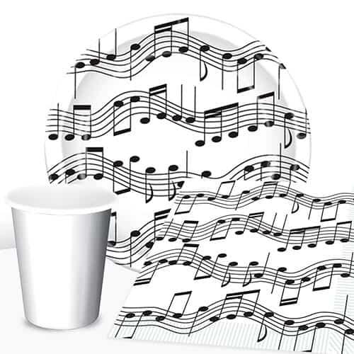 Paquete De Fiesta De 8 Notas De Valor Musical.