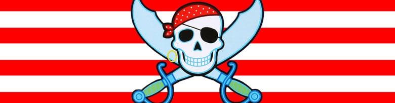 Suministros de fiestas temáticas pirata Top Image