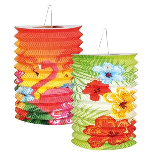 Aloha Temáticas Lámparas de Papel 16cm Paquete de 2