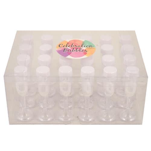 Burbujas de Champán Blanca 5ml Paquete de 24