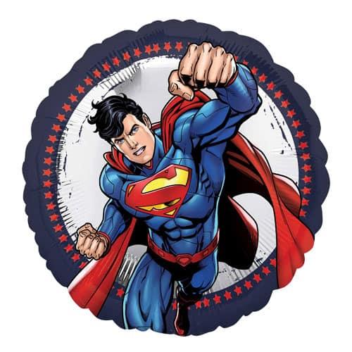 Globo de la Hoja Ronda de Superman – 43cm