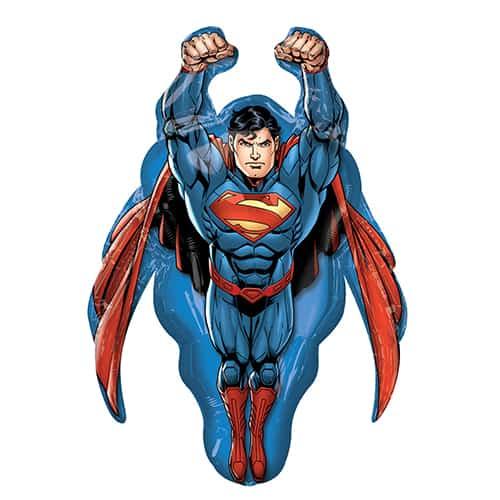 Globo Gigante De Papel De Helio Superman 86Cm / 34 In
