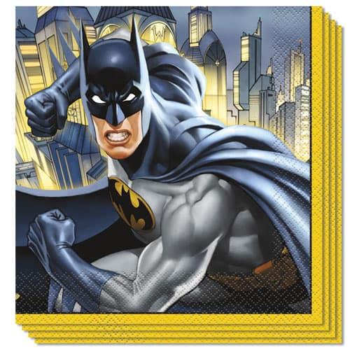 Batman Servilletas de Almuerzo 33cm 2Ply Paquete de 16
