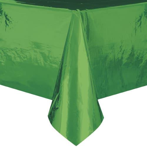 Mantel de Papel Verde 274cm x 137cm