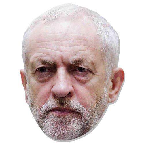 Jeremy Corbyn Máscara de Cartón