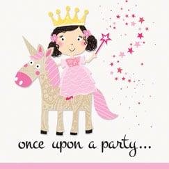 Suministros de Fiesta de Princesas y Unicornios