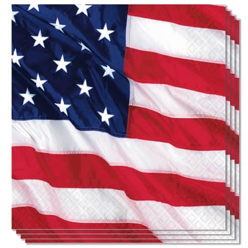 EE.UU. Colores de Vuelo Servilletas de Almuerzo 2Ply 33cm Paquete de 16