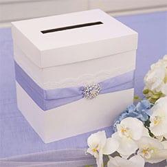 Cajas de tarjetas de boda