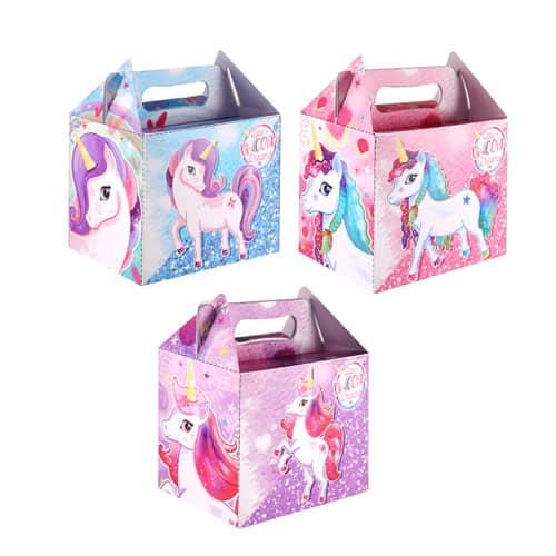 Caja Surtida Fiesta De Unicornio
