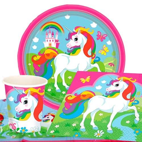 Paquete De Fiesta Unicornio Valor 8 Personas