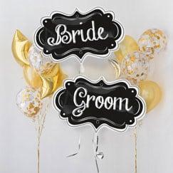 Globos y accesorios para bodas