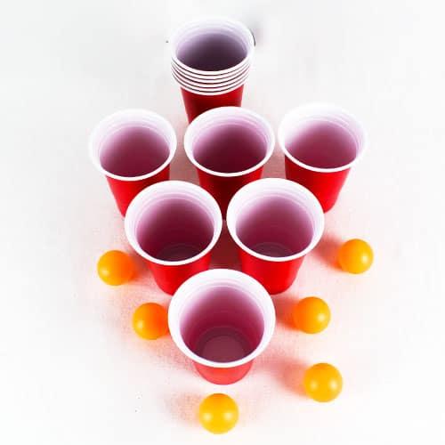 Juego De Pong De Cerveza - Paquete De 18