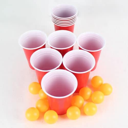 Set De Cerveza Pong - Paquete De 24