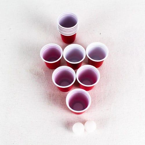 Mini Juego De Pong De Cerveza - Paquete De 14