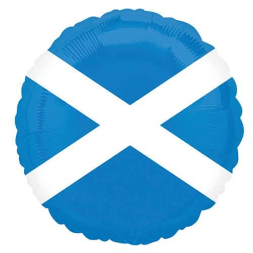 Bandera de Escocia Foil Globo de Helio 46cm
