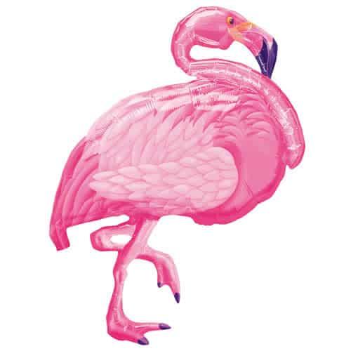 Flamingo Beach Helio Lámina Gigante Globo 89Cm / 35 In