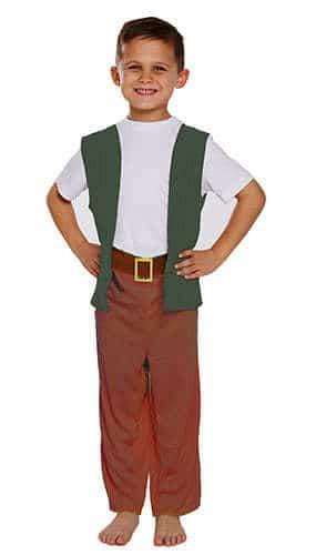 Amistoso Niños Gigantes Disfraces Disfraz 7-9 Años - Medio