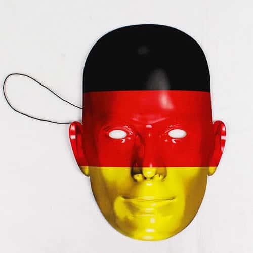 Máscara De La Bandera De Alemania