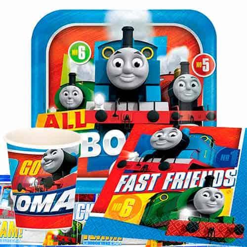 Thomas Y Amigos Pegatinas De Fiesta Pack De 6 Hojas
