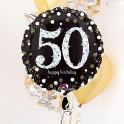 Suministros de fiesta de cumpleaños 50