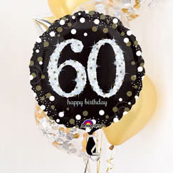 60.o Fiesta de cumpleaños suministros