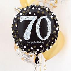 Suministros de fiesta de cumpleaños 70