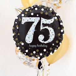 75.o Fiesta de cumpleaños suministros