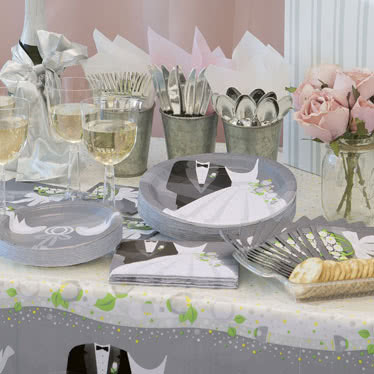 Suministros y Decoraciones para Banquetes de Boda