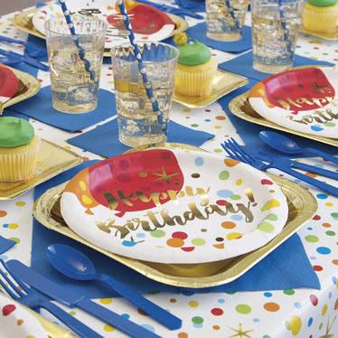Suministros de Fiesta de Cumpleaños