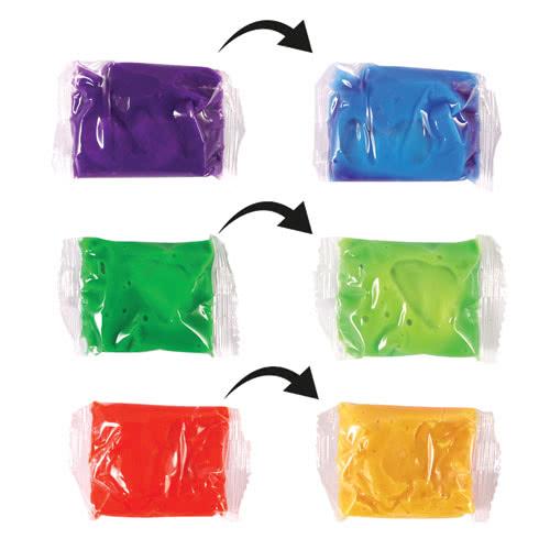 Surtidos Cambiadores De Color Sensible Al Calor Masilla 7Cm
