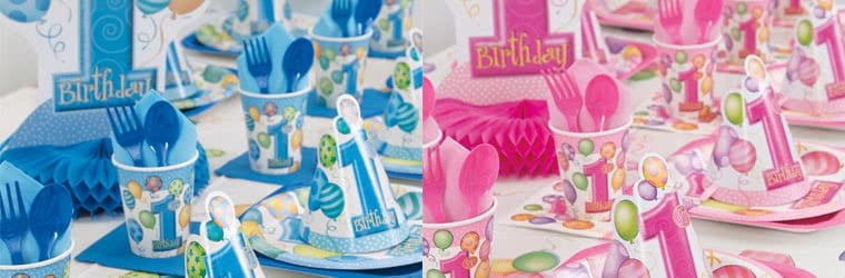 Niños 1-16 Cumpleaños Artículos de fiesta