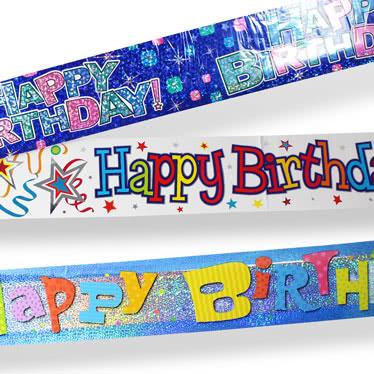 Banners de fiesta