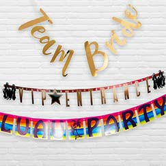Banners de fiestas temáticas
