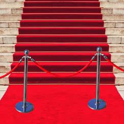 Cuerdas, postes y alfombras VIP