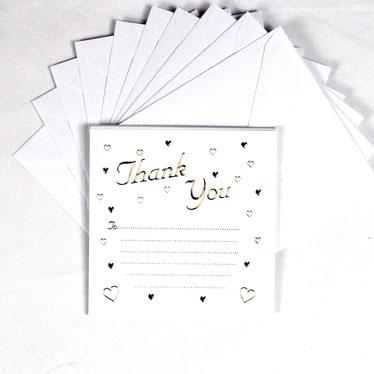 Invitaciones de boda y gracias a ti