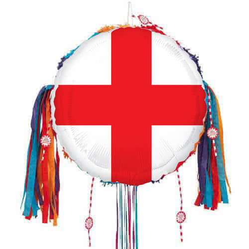 St George'S Day Inglaterra Bandera Tirar Cadena Piñata