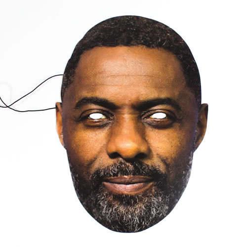 Máscara De Cartulina Idris Elba