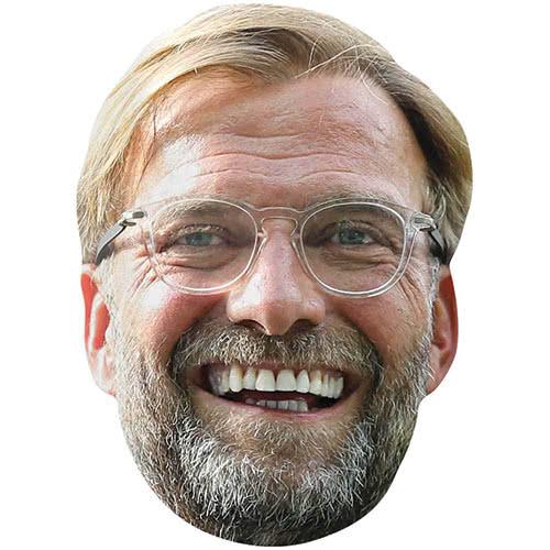 Máscara De Cartulina Juergen Klopp Liverpool Manager