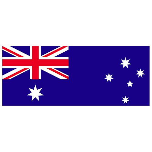 Bandera De Australia Fiesta De Pvc Firmar Decoración 60Cm X 24Cm