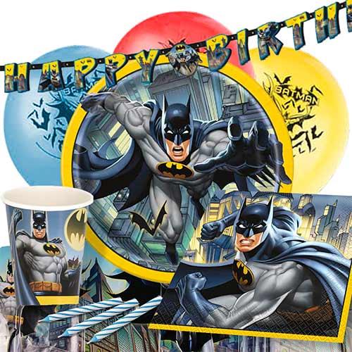 Paquete De Fiesta De Lujo Para 8 Personas Batman