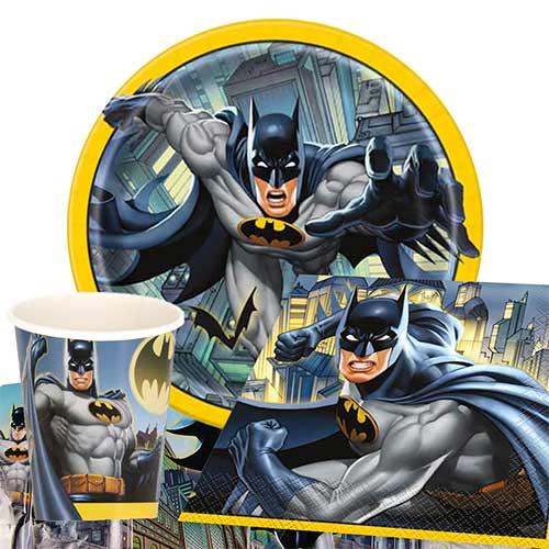 Paquete De Fiesta De Valor Para 8 Personas De Batman