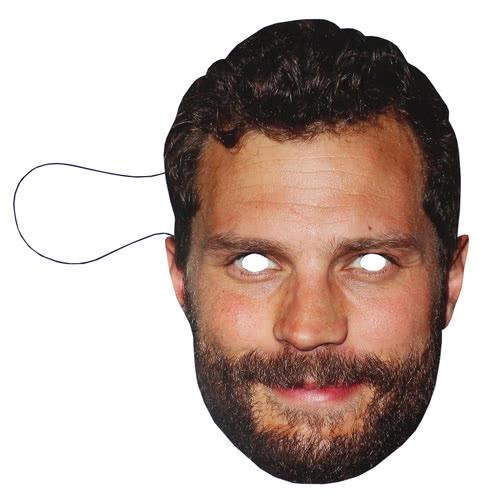 Máscara De Cartón Jamie Dornan