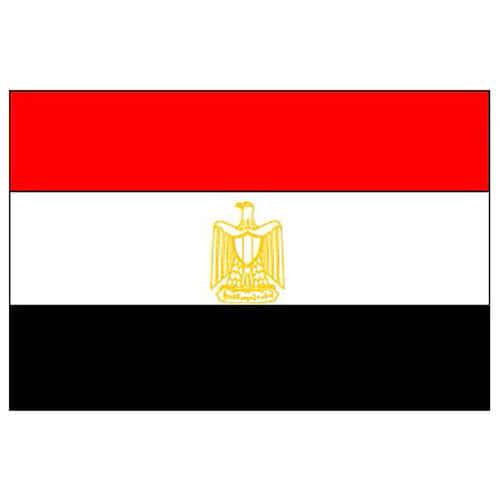 Bandera De Egipto - 5 X 3 Pies